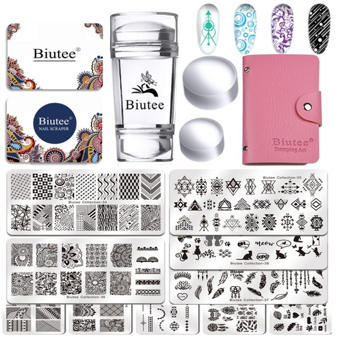 Nail Art Stamping Kit For Sale Online